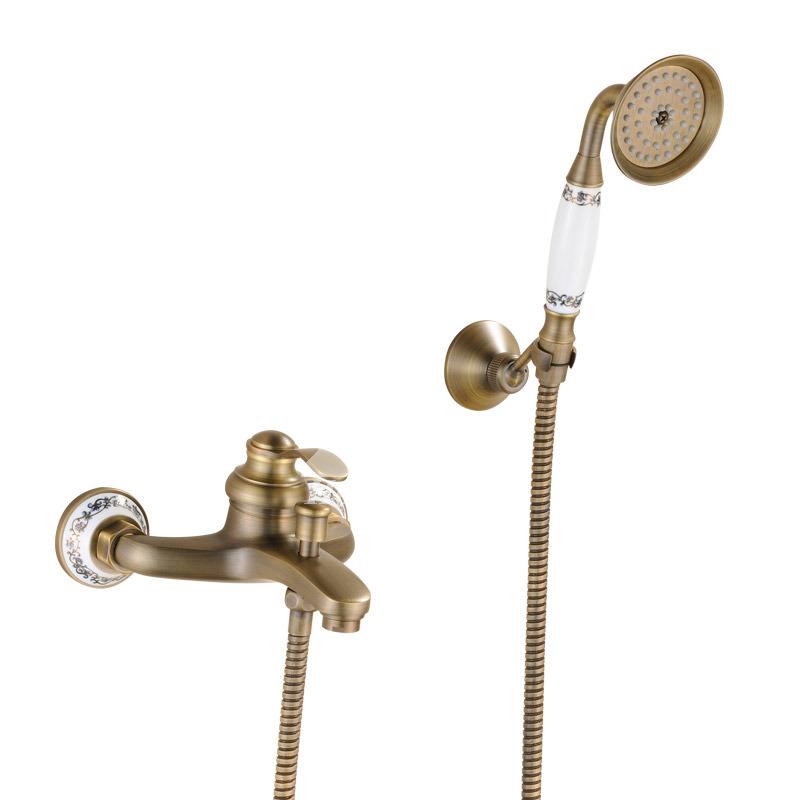 Kitchen Chrome Standard Builder Faucet Double Handle
