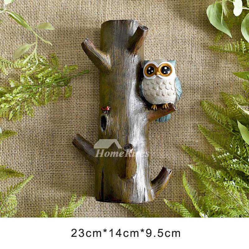 Decorative Wall Hooks For Hanging Animal Modern Coat Bathroom Resin