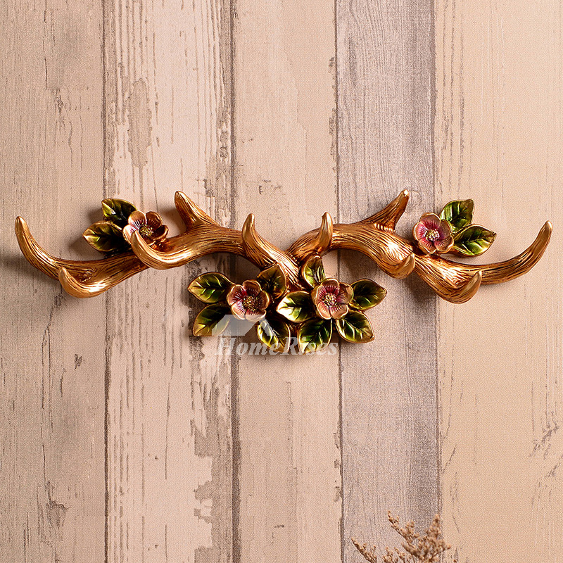 Home Decorators Key Wall Art ~ Vintage wall hooks mounted antler decorative rustic
