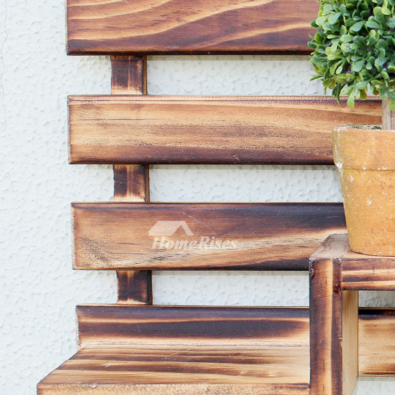 Wooden Wall Hooks Decorative Wall Mounted Key Coat Rack Hanger New Wall Mounted Wood Coat Rack