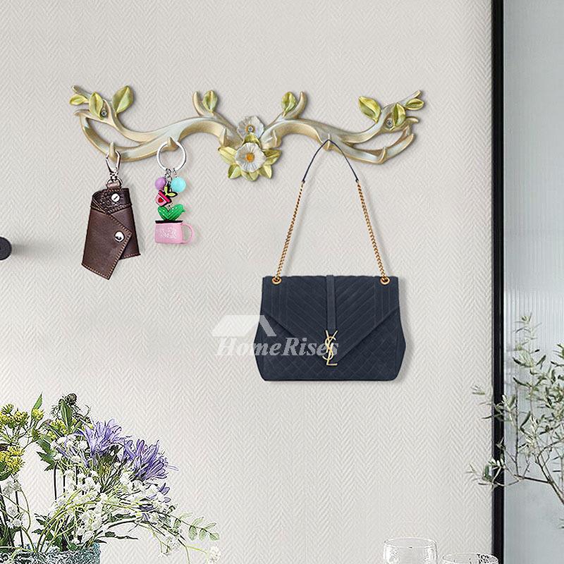 decorative wall hook rack bathroom resin bird coat hanger key best. Black Bedroom Furniture Sets. Home Design Ideas