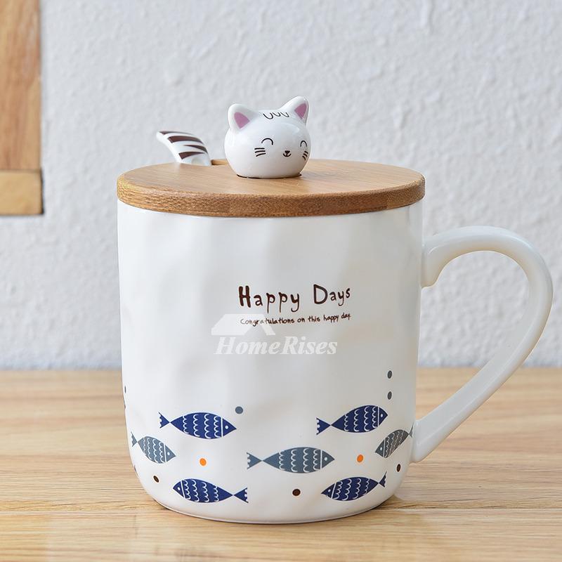 Best Coffee Mugs Ceramic Bamboo Personalized White