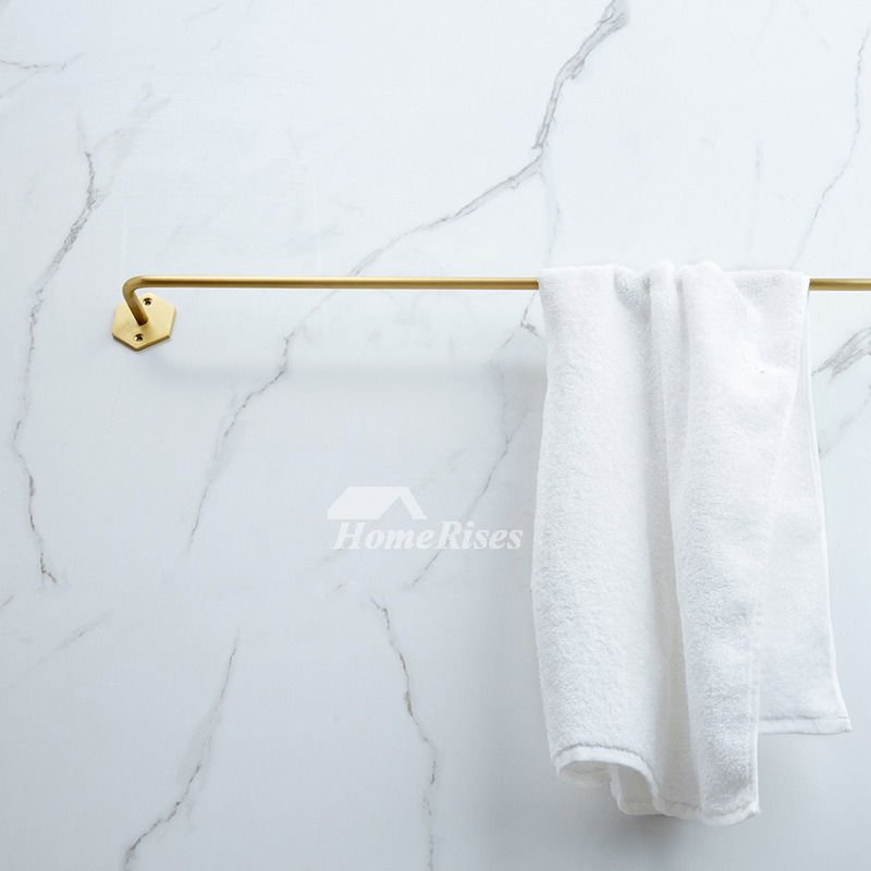Luxury Polished Brass Wall Mount Decorative Hanging Towel