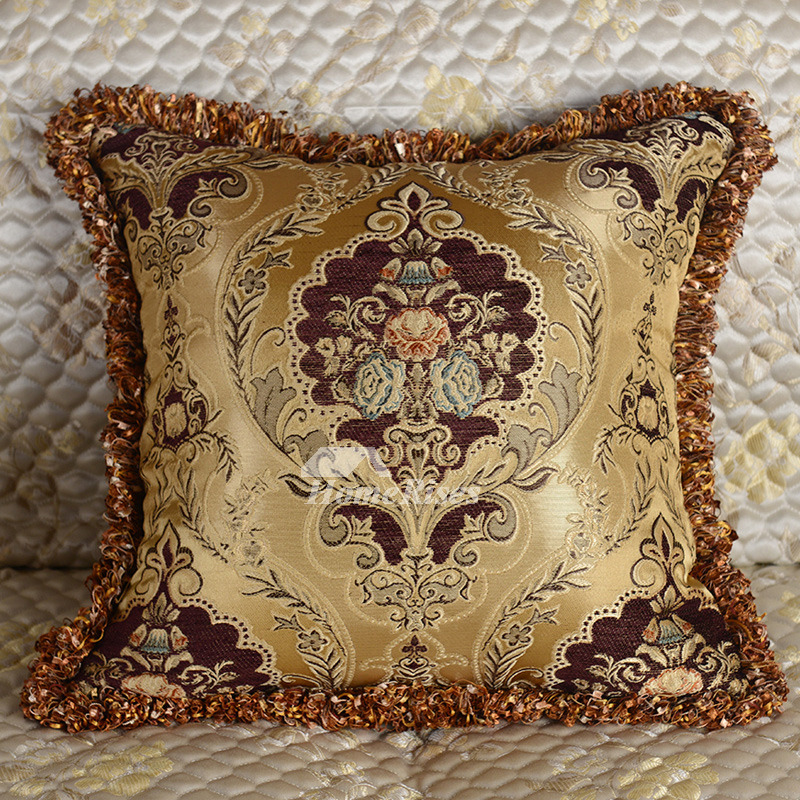Decorative Throw Pillows Brown Blue Modern Designer Polyester (Pillow Core  Not Included) bd569c82bd03