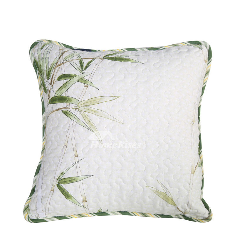 Designer Cotton Throw Pillows For Couch Square White Pillow Core Not Included