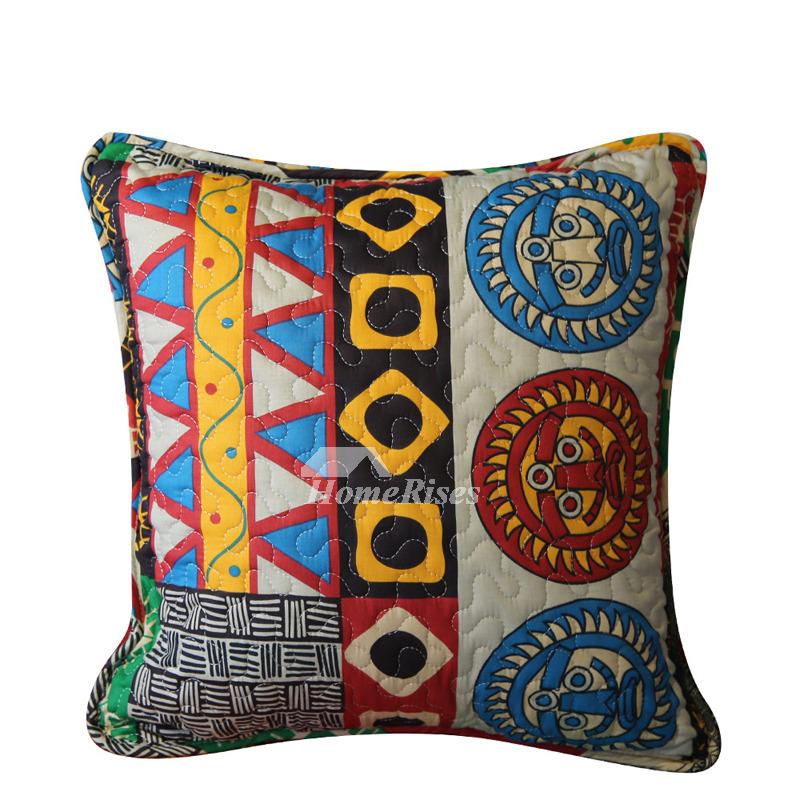 Pictures Show Designer Cotton Throw Pillows