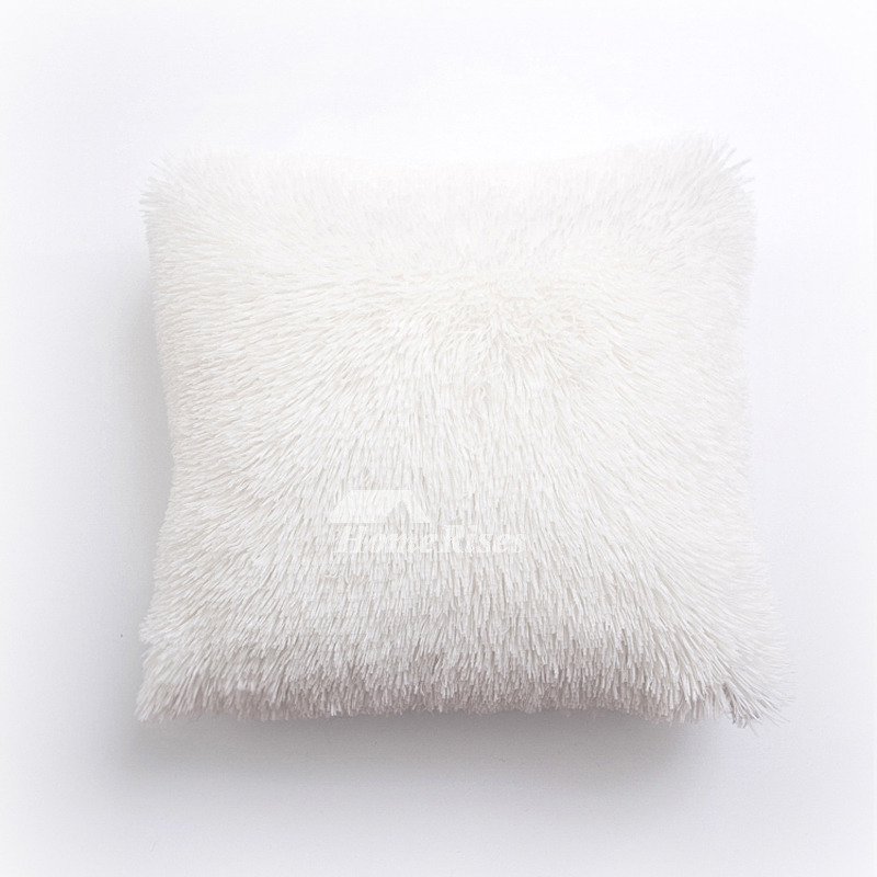 Cheap Throw Pillows For Couch Square Silver White Pink