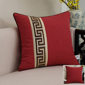 Buy Decorative Throw Pillows Online Homerises Custom Red And White Decorative Pillows