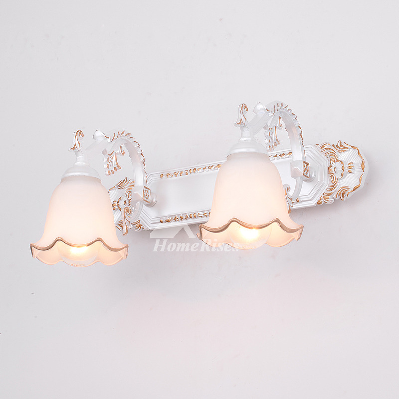 Modern Resin Carved Designer Wall Sconces Lighting Living Room White