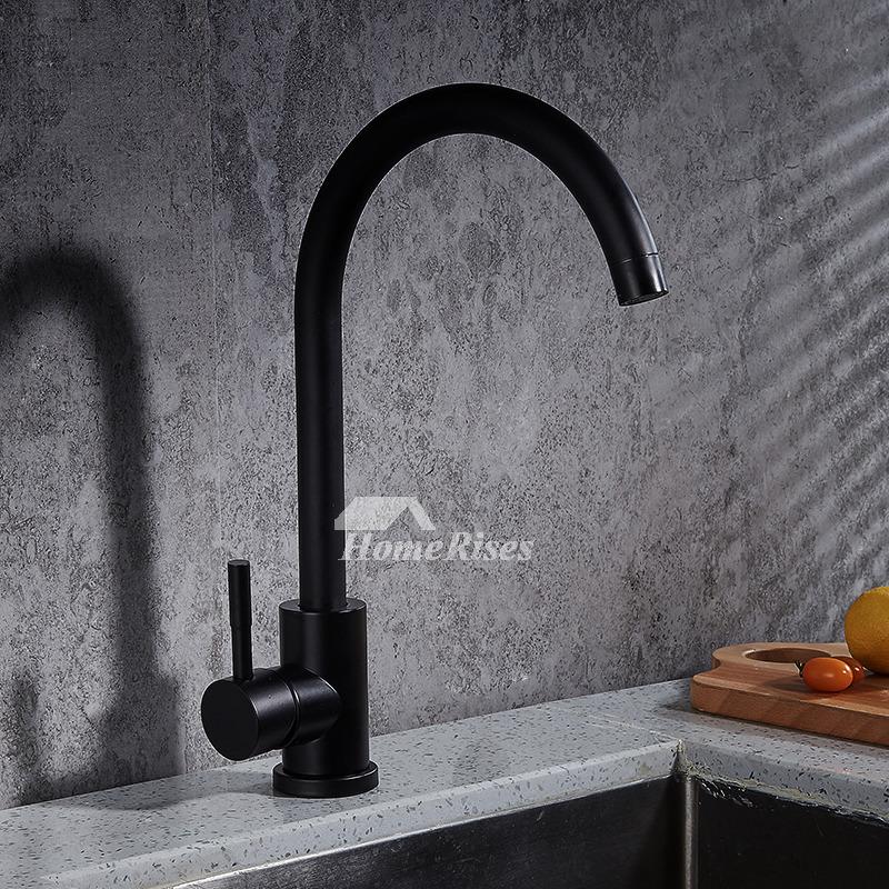 Commercial Single Handle Industrial Kitchen Faucet Gooseneck Best