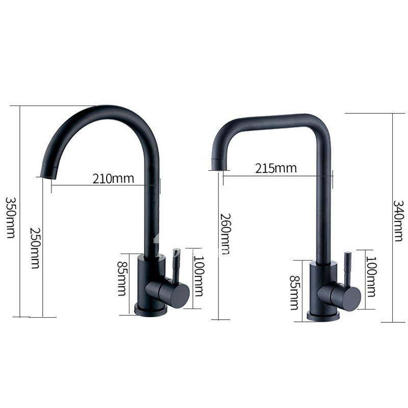 Commercial Single Handle Industrial Kitchen Faucet