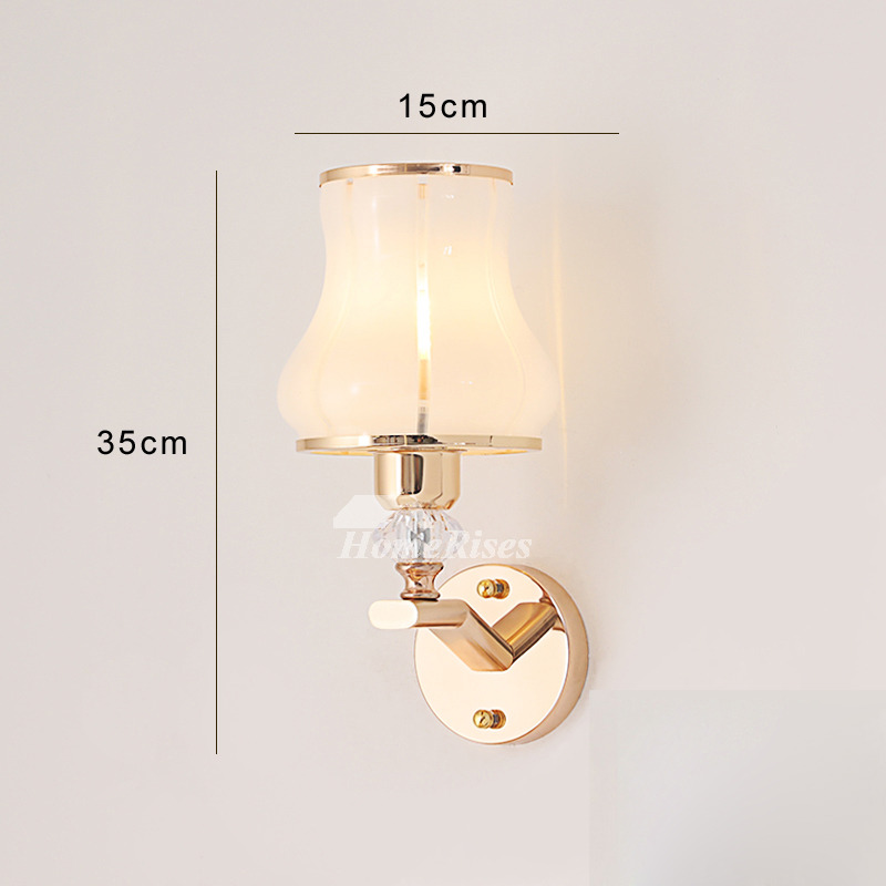 Modern Wall Sconces Decorative Lighting Gl Zinc Alloy Unique Small