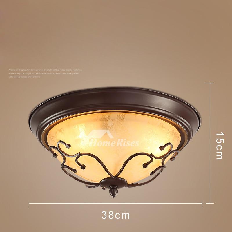 Ceiling Light Fixtures Semi Flush Mount Rustic Bedroom
