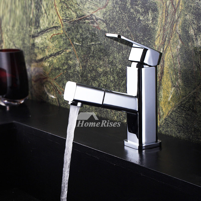Bathroom Sink Faucets Cheap: Cheap Bathroom Faucets Silver Brass Pull Out Chrome Valuable