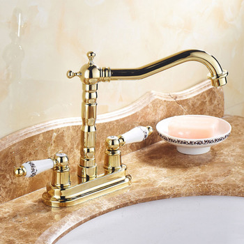 Buy Brass Bathroom Faucets, Polished Brass Bathroom Sink Faucets