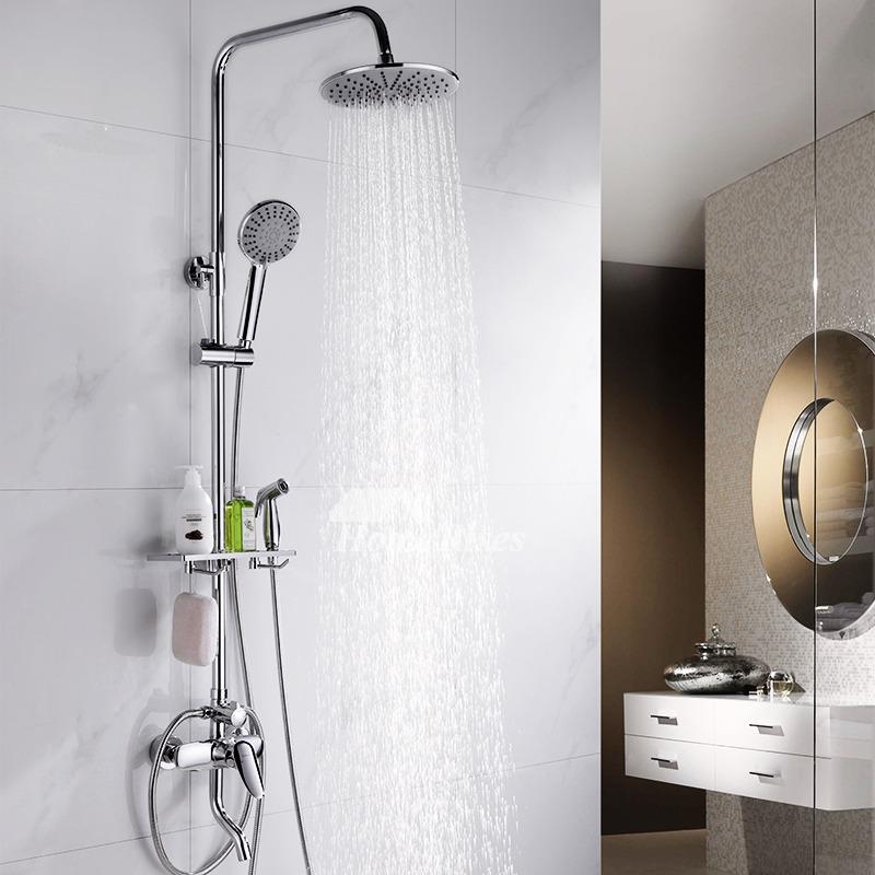 Shower Systems With Body Sprays Brass Chrome Wall Mount Best