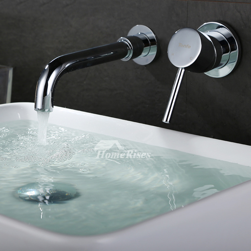 Best Bathroom Faucets Wall Mount Silver