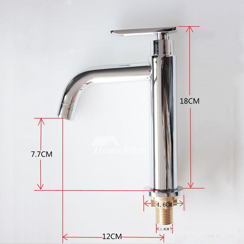 Discount Bathroom Faucets Stainless Steel Silver Chrome Vanity Small