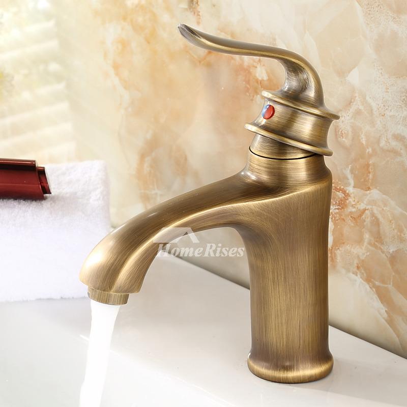 brushed gold bathroom faucet single handle vessel vanity best. Black Bedroom Furniture Sets. Home Design Ideas