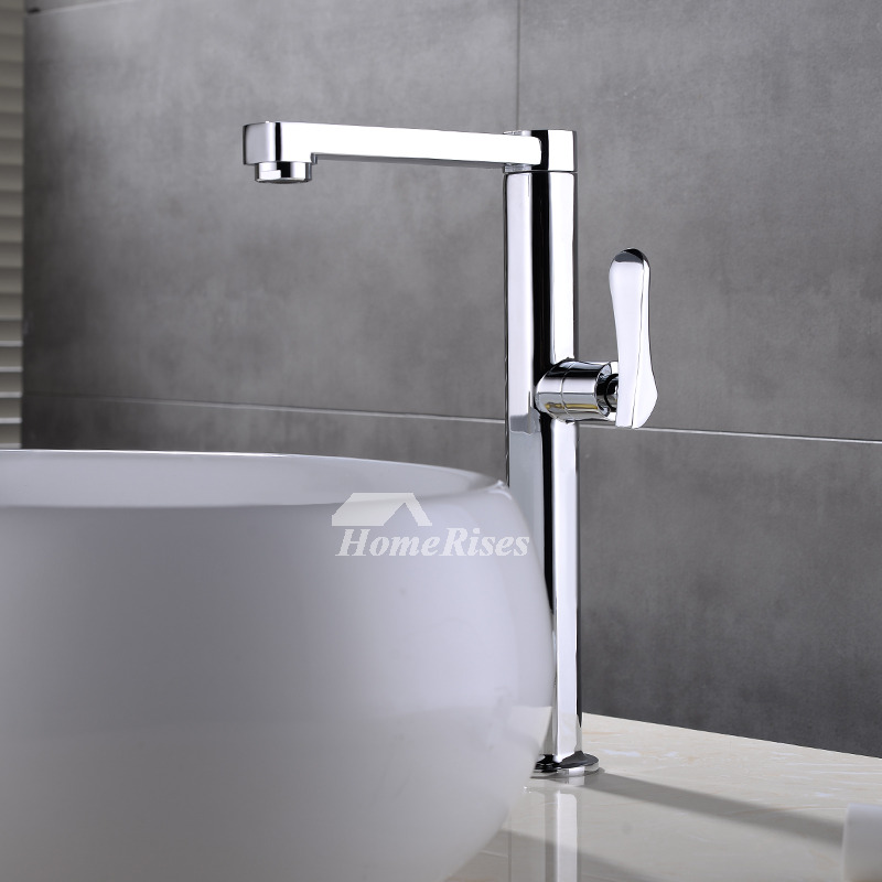 Discount Bathroom Sinks And Toilets: Discount Bathroom Faucets Vessel Square Single Handle