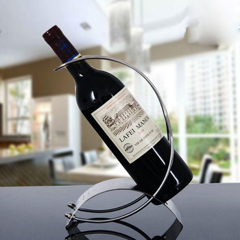 Stainless steel Wine Bottle Holder