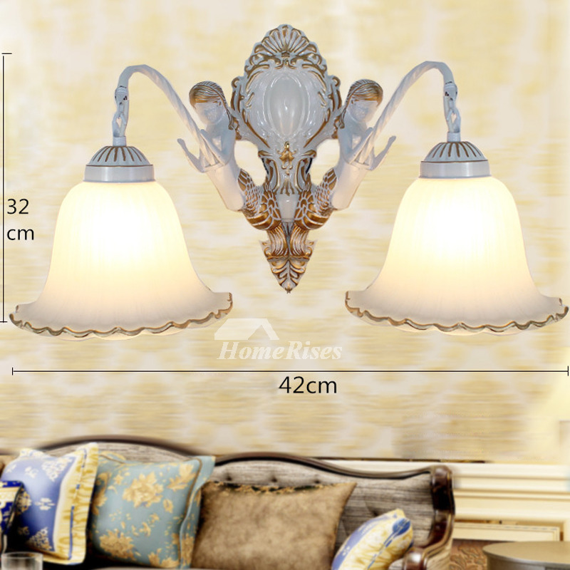 Unique Bedroom Lighting: Indoor Wall Sconces Decorative 2 Light Zinc Alloy Bedroom
