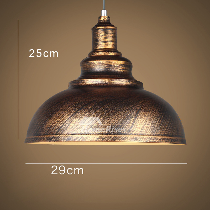 Industrial Pendant Lighting Warehouse Kitchen Wrought Iron Fixture