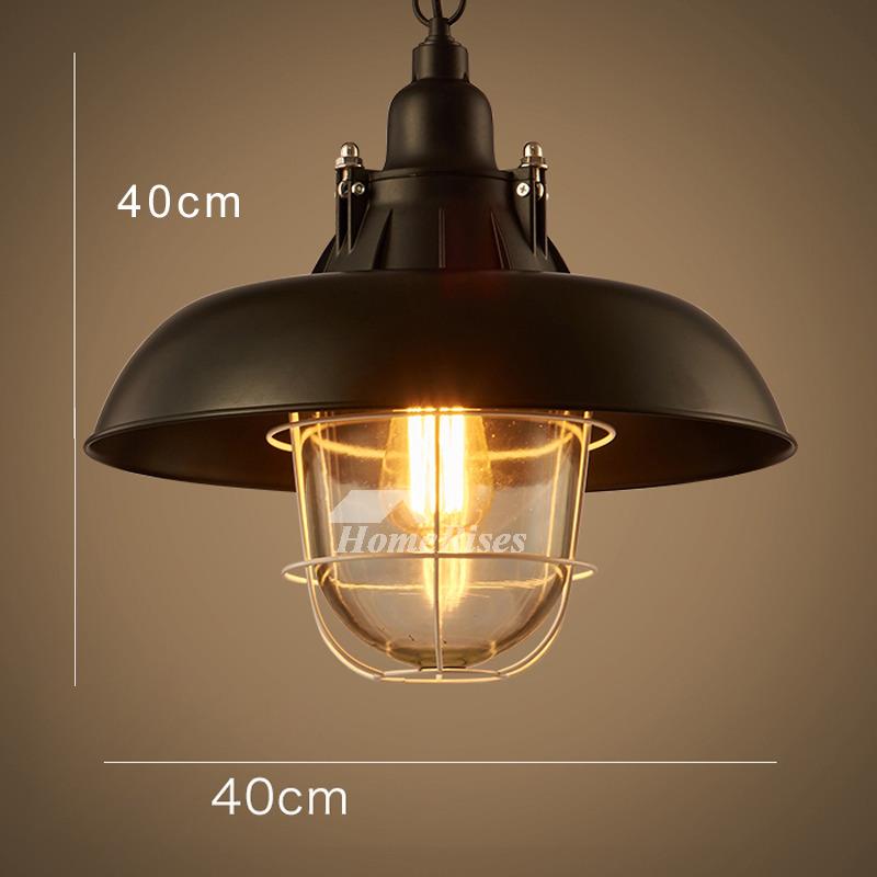 Pendant Lighting Fixtures Industrial Creative Hanging Black Wrought Iron