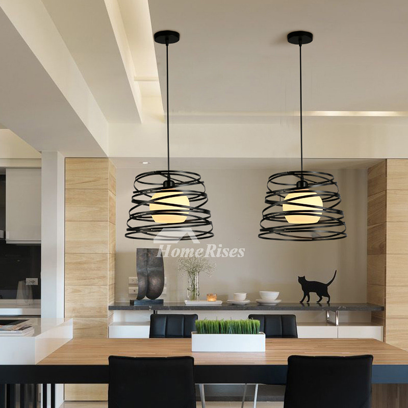 Modern Pendant Lighting Modern Hanging For Kitchen Black