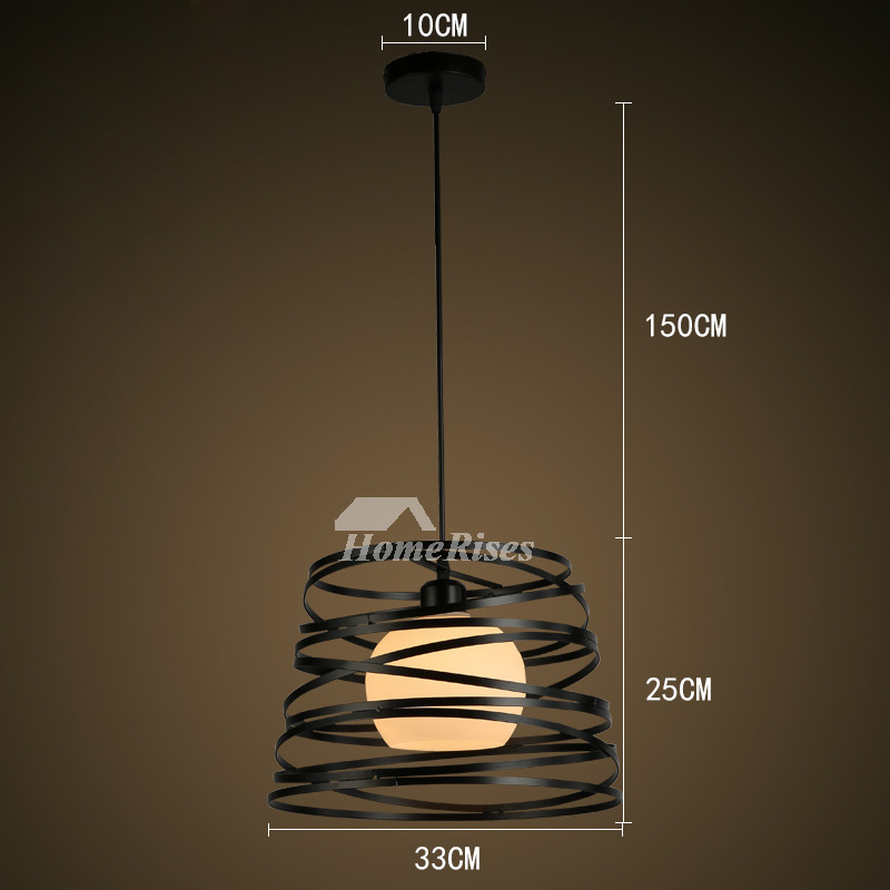 Outdoor Pendant Lighting Hanging Modern Wrought Iron For Kitchen