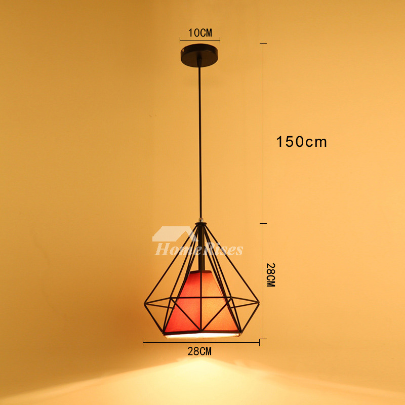 Black Pendant Light Kitchen Fixture Modern Hanging Large Unique Best