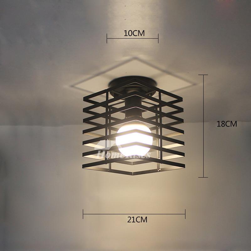 Kitchen Ceiling Lights Wrought Iron Semi Flush Fixture