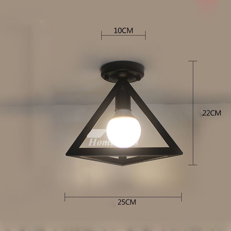 Small Ceiling Lights Entryway Wrought Iron Semi Flush