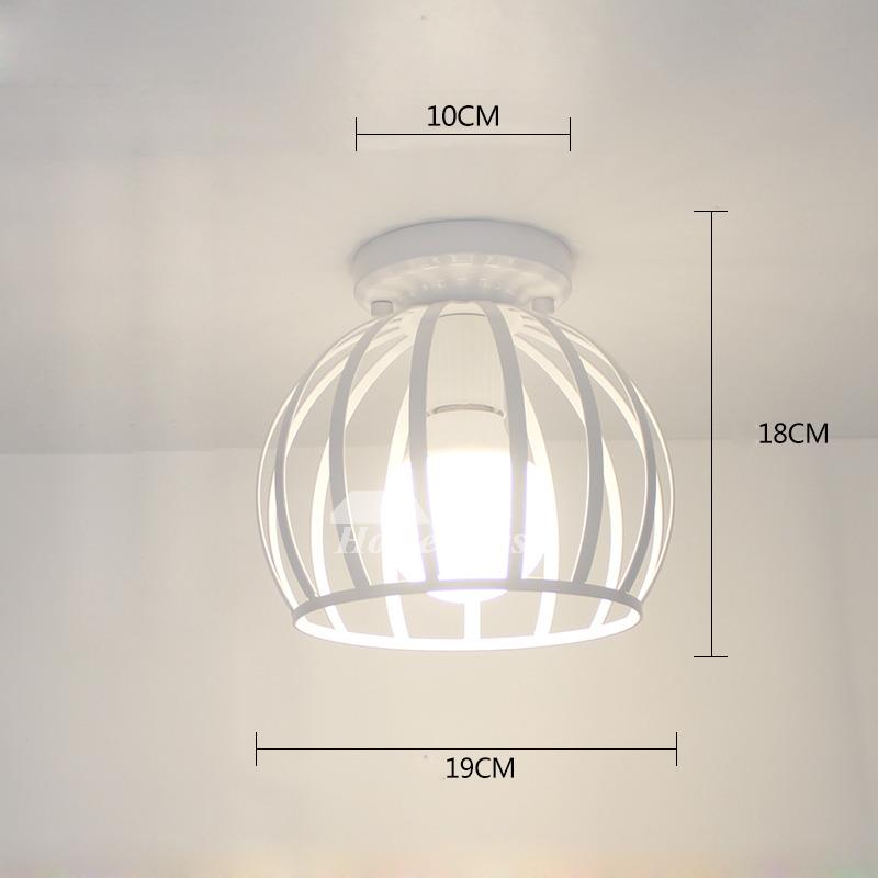 Semi Flush Mount Ceiling Light Small Modern Living Room