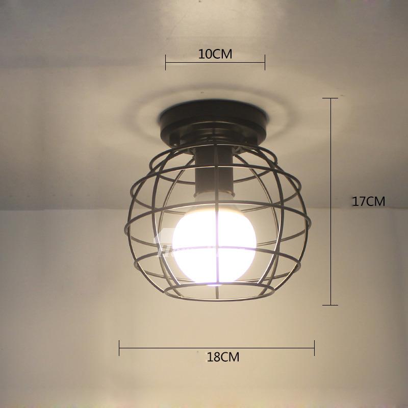 Modern Kitchen Ceiling Light Fixtures White/Black Wrought ...