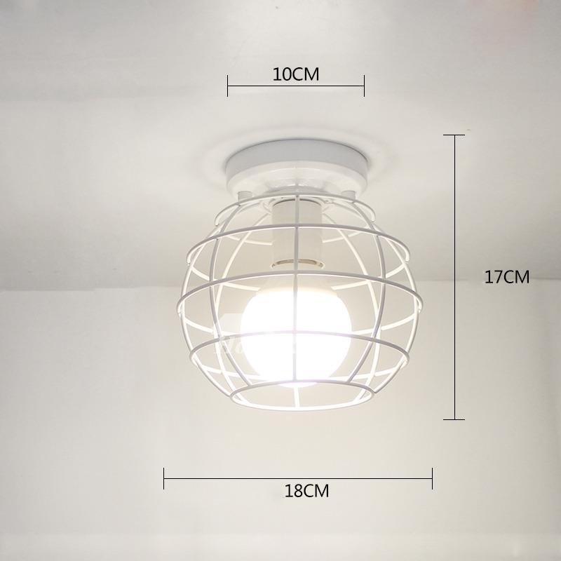Modern Kitchen Ceiling Light Fixtures White Black Wrought Iron Semi Flush