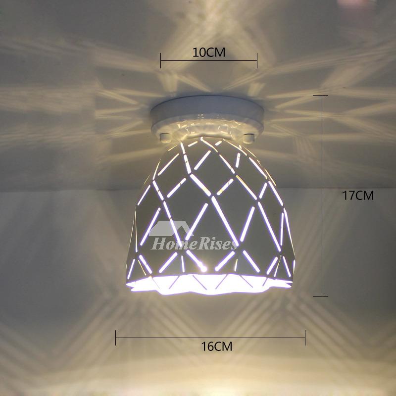 Semi Flush Mount Ceiling Lights Modern Small Wrought Iron