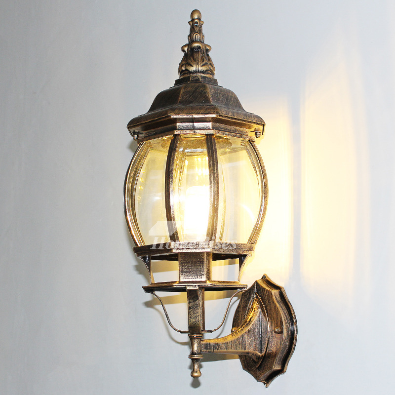 Pictures Show Outdoor Wall Sconce Rustic