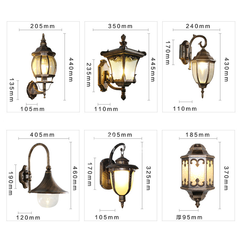 pretty nice 76254 4e039 Outdoor Metal Wall Sconces Glass Vintage Lighting Art Deco Cheap