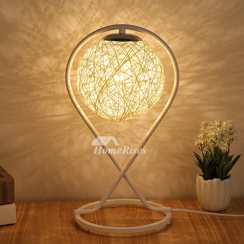 Bedside Table Lamps Hanging Cheap Small Modern Night Metal