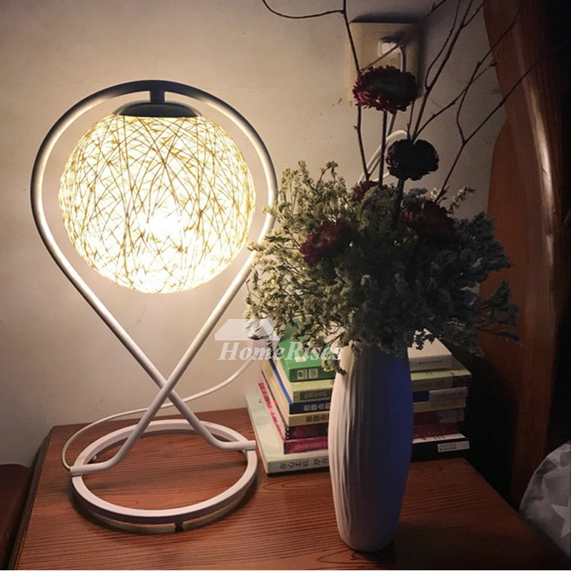Bedside Table Lamps Hanging Cheap Small Modern Night Metal ...