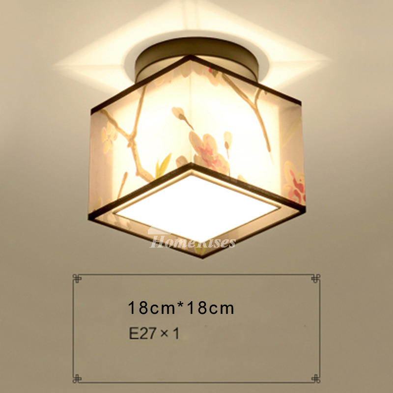 Kitchen ceiling lights small asian fabric wrought iron roundsquare aloadofball Choice Image