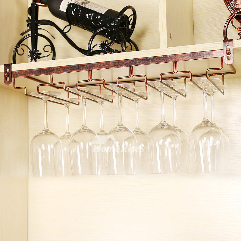 Good Quality Wine Rack And Glass Holder Hanging Decorative