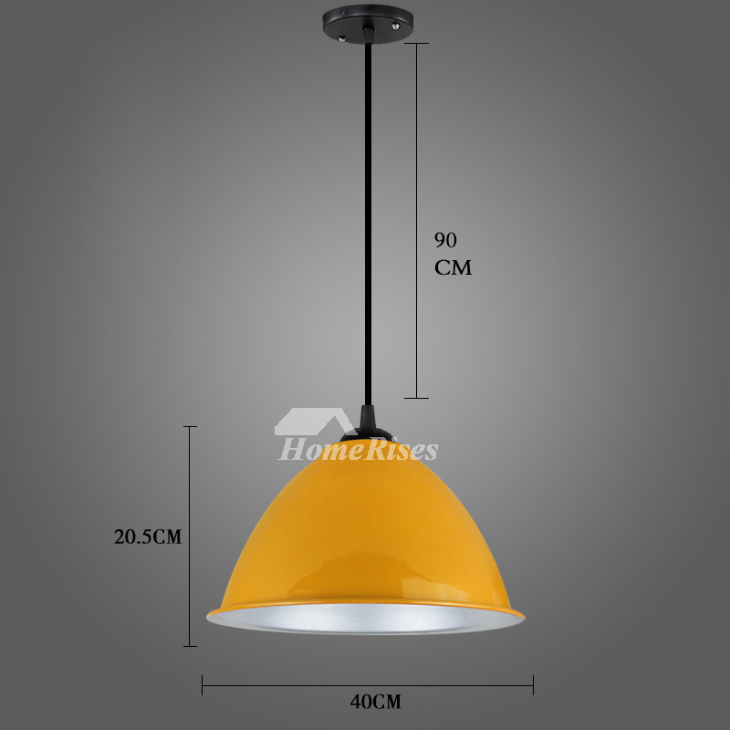 Hanging Pendant Lights White/Red Fixture Modern For