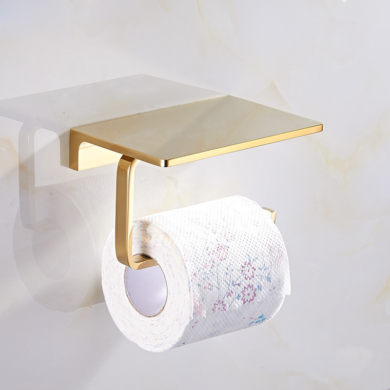 Polished Brasschromeantique Brassorb Toilet Paper Holder Shelf