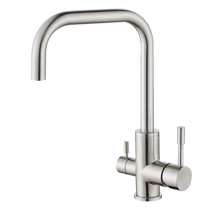 Best Kitchen Faucets Single Handle Brushed Stainless Steel