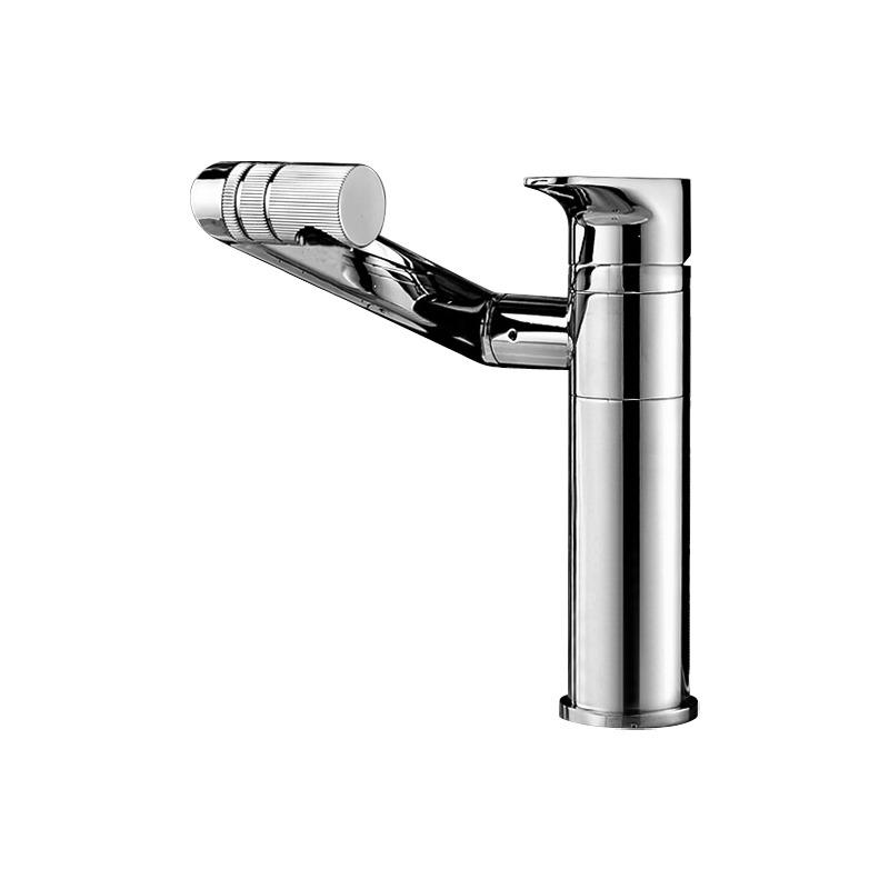 Discount Bathroom Faucets Rotatable Silver Brass Adjustable Unique