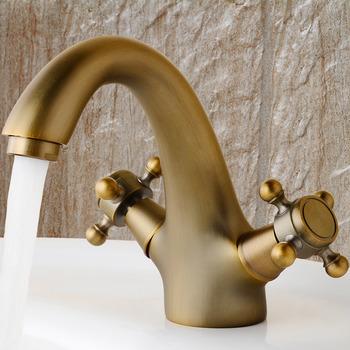 N80106 Annabella 4 Centerset Bathroom Faucet Antique Brass At