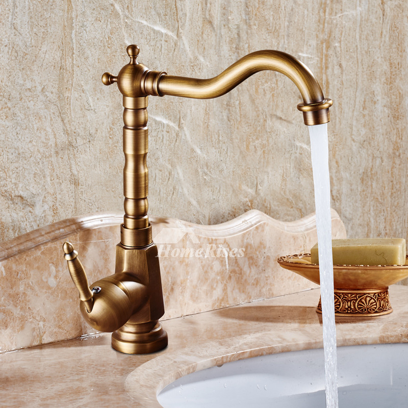 Bathroom Faucet Antique Br Brushed