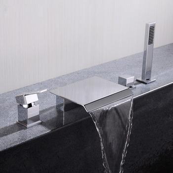Luxury Waterfall Bathtub Faucet
